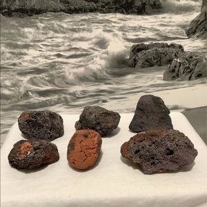 Scoria Volcanic Lava Rock